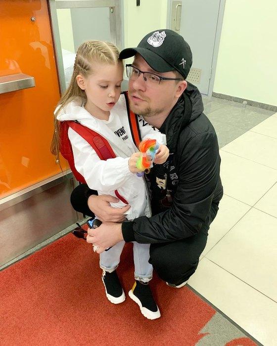 Харламов и Кристина Асмус. 2
