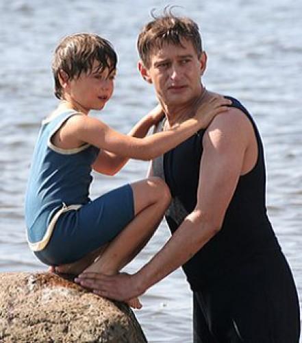 Константин Хабенский с сыном 2