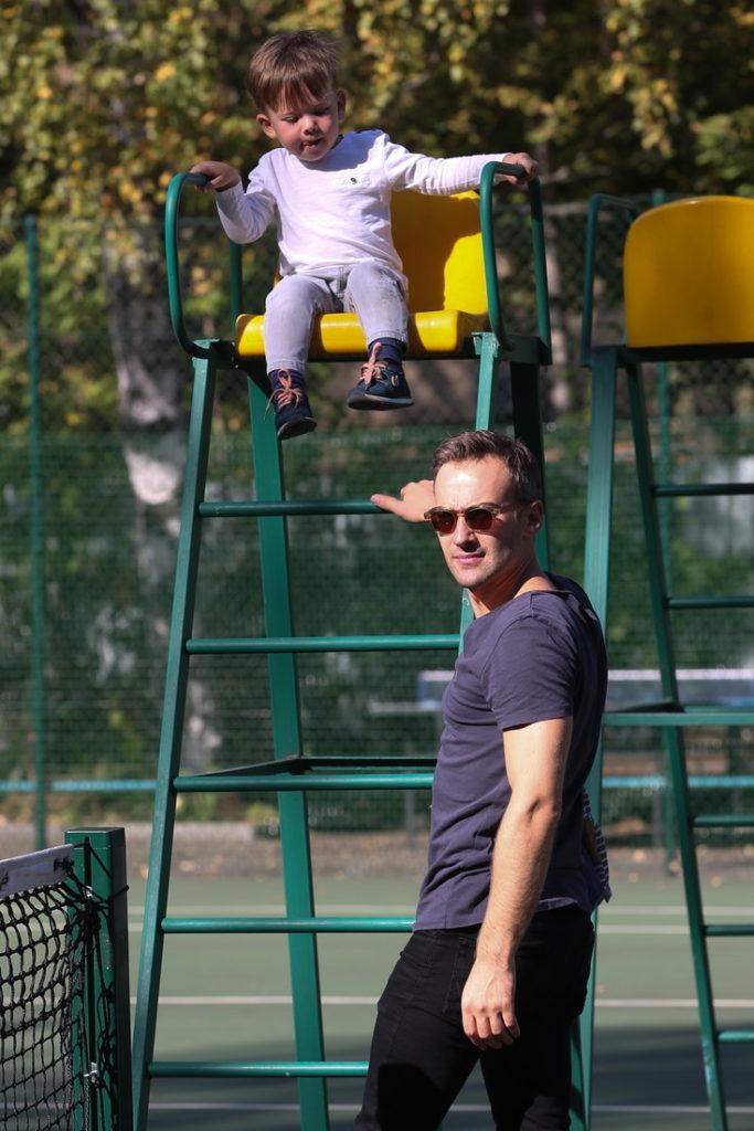 Дмитрий Шепелев с сыном 2
