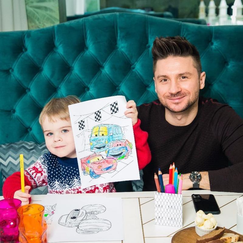 Сергей Лазарев с сыном 2