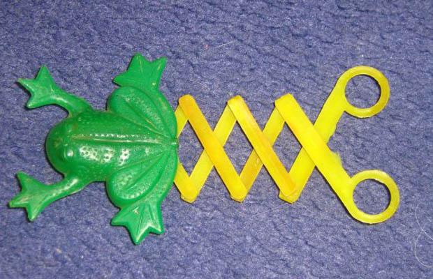 игрушки ссср - лягушка попрыгушка