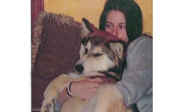 Кристен Стюарт и волк